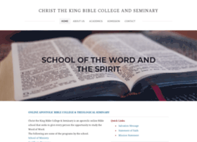 apostolicseminary.org