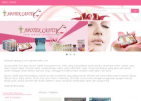 apotekcantik.com