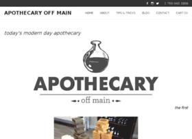 apothecaryoffmain.com