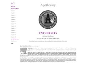 apothecaryuniversity.com