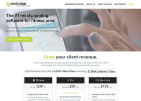 app.evolutionnutrition.com