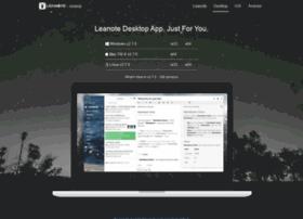 app.leanote.com