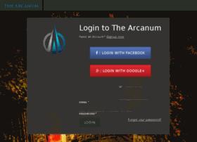 app.thearcanum.com