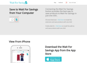 app.waitforsavings.com