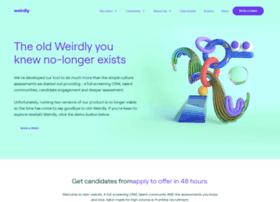 app.weirdlyhub.com