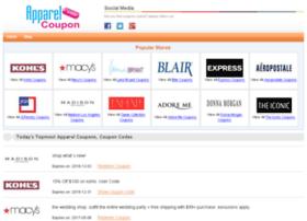 apparel-coupon.com