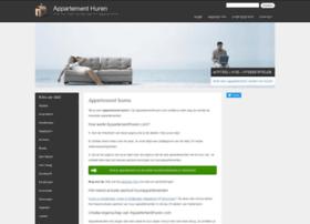 appartementhuren.com