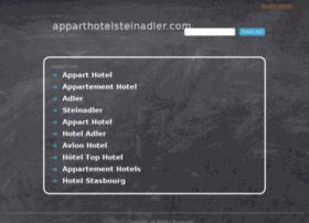 apparthotelsteinadler.com