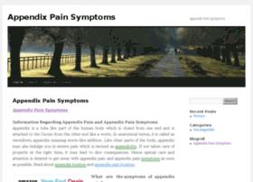 appendixpainsymptoms.com