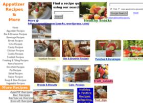 appetizerrecipesandmore.com