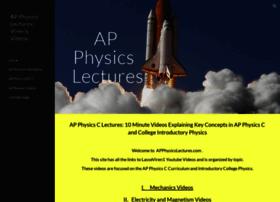 apphysicslectures.com