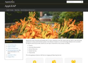 appleap.appstate.edu