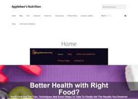 applebeesnutrition.net