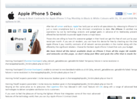 appleiphone5-deals.co.uk