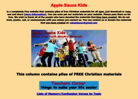 applesaucekids.com