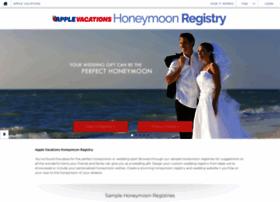 applevacations.honeymoonwishes.com