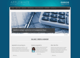 applewhiteaccounting.com