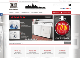appliancedistributorsseattle.com