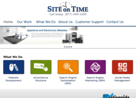 applianceworldone.siteontime.com