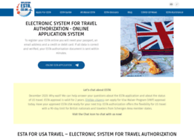 application-esta.co.uk