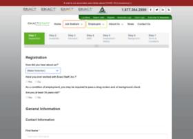 application.exactstaff.com