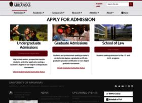 application.uark.edu