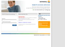 application.vattenfall.de