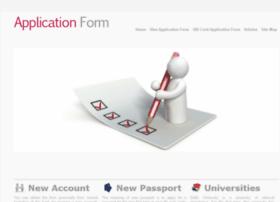 applicationform.net.in