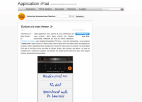 applicationipad.fr