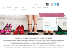 applications.fashionretailacademy.ac.uk