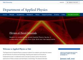 appliedphysics.yale.edu