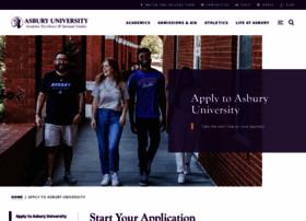 apply.asbury.edu