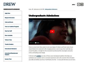apply.drew.edu