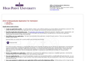 apply.highpoint.edu