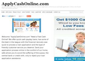 applycashonline.com