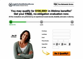 applyfordisabilitybenefits.com