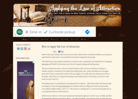 applying-the-law-of-attraction.com