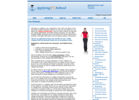 applyingtoschool.com