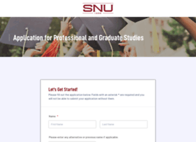 applynowpgs.snu.edu