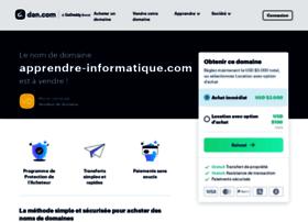apprendre-informatique.com