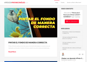 aprendeapintarconoleo.com