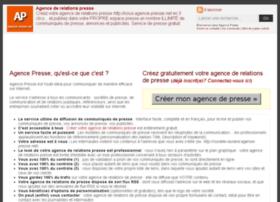 aproja.agence-presse.net