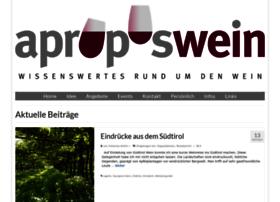 aproposwein.ch
