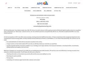 apslaminating.com