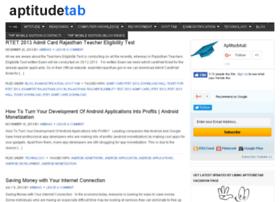 aptitudetab.com