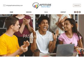 aptitudetestshelp.com