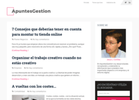apuntesgestion.com