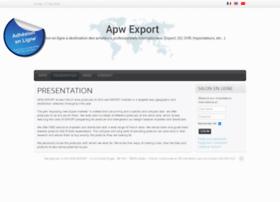 apwexport.com