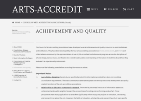 aqresources.arts-accredit.org