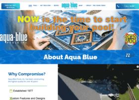 aquabluepools.com